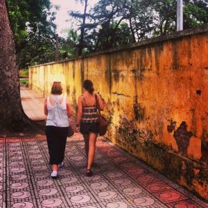 Strolling in Hanoi